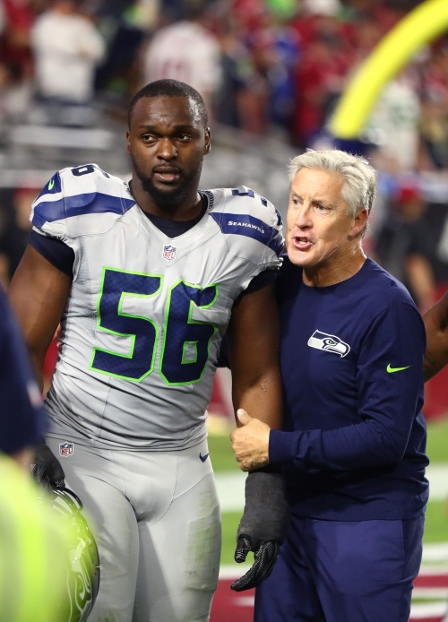 Cliff Avril says Seahawks started doubting Pete Carroll, staff after Super Bowl XLIX loss