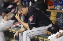Sore knee forces Cleveland Indians reliever Andrew Miller back to the disabled list, Evan Marshall recalled
