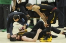 Cavaliers' Kevin Love placed in concussion protocol, declared out for Sunday's Game 7