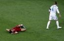 Entre lágrimas, Salah abandona final de Champions por lesión
