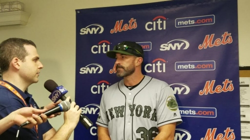 Mets manager Mickey Callaway on lefty Jason Vargas' start against Milwaukee