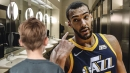 Child poops in toilet and wanted Rudy Gobert to be the first to know
