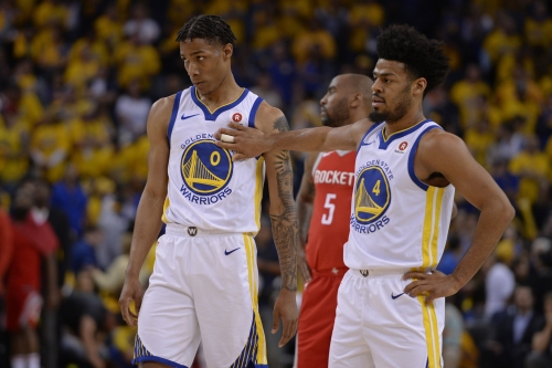 """Warriors guard Patrick McCaw happy with return to lineup: """"It's amazing"""""""