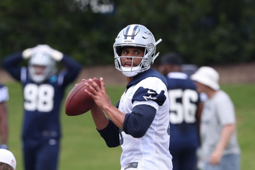 Cowboys news: Dak Prescott has 8th best odds for MVP, does he need a #1 wide receiver?