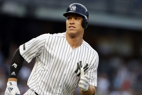 NYY News: Let the record show that Judge hits lots of dingers