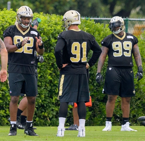 Saints could have deepest defensive line they've had in years if everything pans out