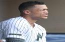 Giancarlo Stanton struggles again for New York Yankees, Gleyber Torres gets some rest