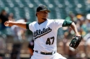 Frankie Montas impresses as A's win series over Diamondbacks