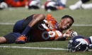 Demaryius Thomas creating connection with Case Keenum at Broncos OTA