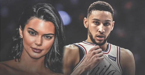 Ben Simmons is rumored to be dating Kendall Jenner