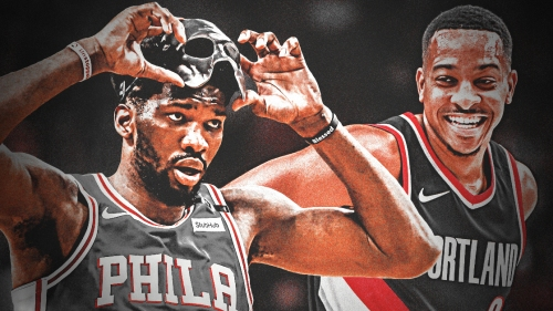 C.J. McCollum puts on his recruiting hat, asks Joel Embiid if he's not happy with Sixers