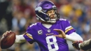 Video: Kirk Cousins says throwing to Kyle Rudolph 'like throwing into a mattress'