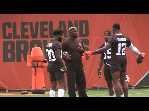 Watch Jarvis Landry, Josh Gordon, Antonio Callaway other Browns WRs in OTAs