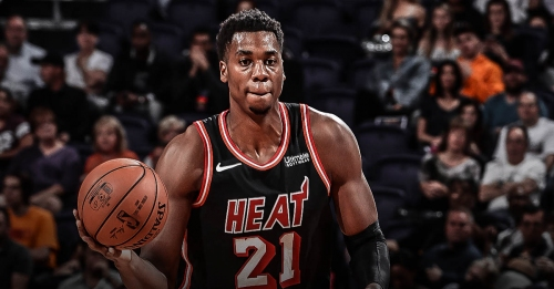 Hassan Whiteside's alleged burner account goes private