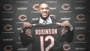 Bears WR Allen Robinson practiced for the first time since being signed by Chicago