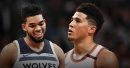 Devin Booker appears to fan flames of Karl-Anthony Towns trade