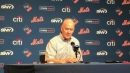 NY Mets' Sandy Alderson on David Wright playing catch