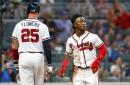 Nationals drop 4-2 decision to Braves: 10-game road winning streak snapped in series opener in Atlanta...
