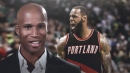 Richard Jefferson thinks LeBron James could join the Blazers