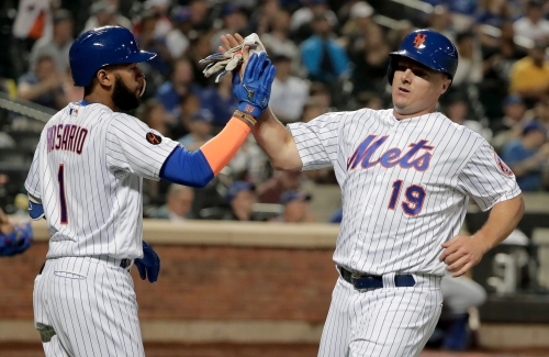 NY Mets: Jay Bruce scratched from lineup because of back discomfort