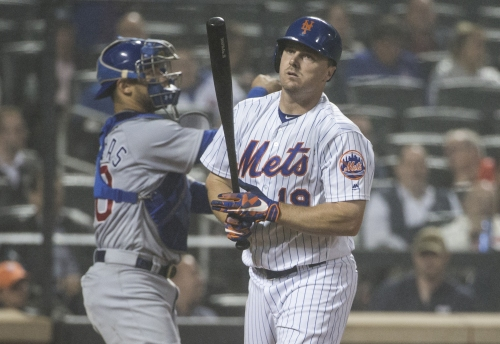 Now it's Jay Bruce aboard the Mets' injury merry-go-round