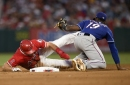 Garrett Richards throws one-hitter, but Angels lose 3-2 to Rangers in extra innings