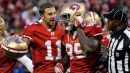 Vernon Davis says Alex Smith 'playing at a totally different level'