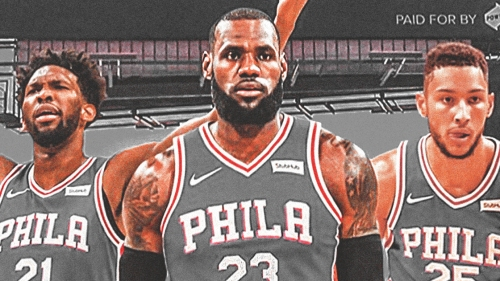 Joel Embiid would likely become role player if LeBron James joins Sixers