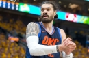 "Steven Adams credits ""fat fingers"" for liking Instagram comment"