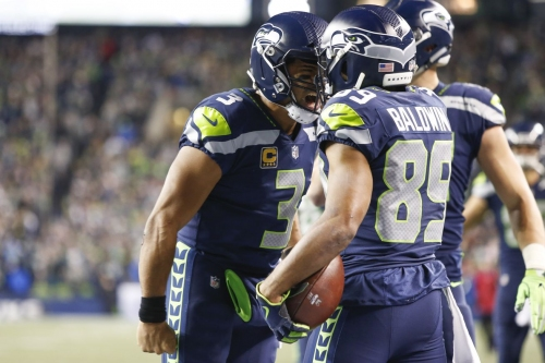Doug Baldwin putting up some NFL-best numbers with Russell Wilson