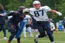 Rob Gronkowski back to fun and games with the Patriots