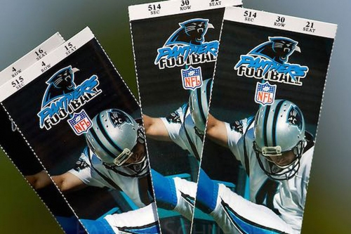 Panthers now 9th in NFL in average ticket price