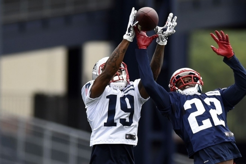 Patriots minicamp: Day three recap; Malcolm Mitchell returns while offense has a sloppy day