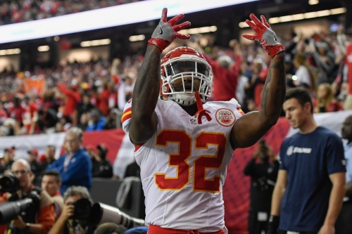 """Spencer Ware is """"chomping at the bit"""" for his return to the Chiefs' lineup"""