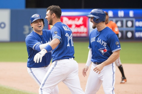 Just keep walking: Blue Jays pull off walk-off in tight game