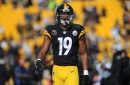 Watch JuJu Smith-Schuster take on a K-9 police dog at Ben Roethlisberger's charity softball game