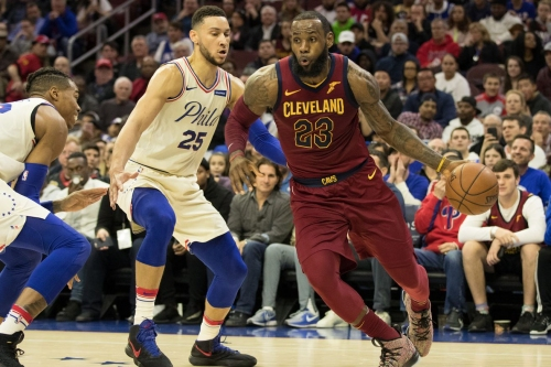 Updated LeBron Odds: Philly coming in behind the Lakers