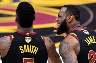 Skip Bayless reveals why LeBron's self-imposed hand injury is no excuse for Warriors sweeping Cavs