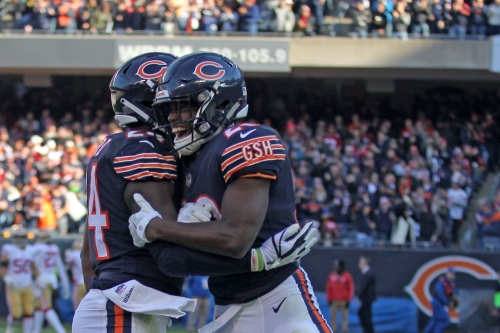Bears' Jordan Howard and Tarik Cohen are one of the best RB duos in the NFL