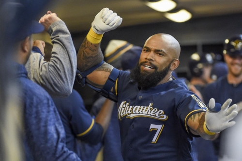 Milwaukee Brewers activate Eric Thames from disabled list, option Brandon Woodruff