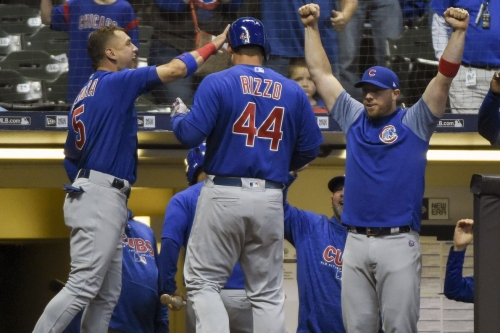 Cubs 7, Brewers 2: Hello, first place