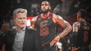Steve Kerr comments on LeBron James' reaction to J.R. Smith blunder