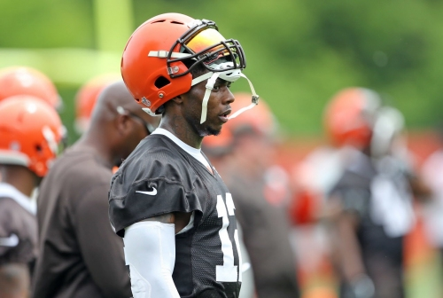 Browns' Josh Gordon: 'We have the best receiving corps in the league already'