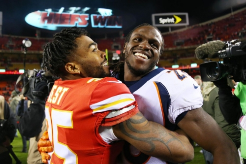 Jamaal Charles will visit New Orleans