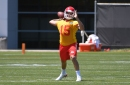 Video from the Chiefs' first mandatory minicamp practice