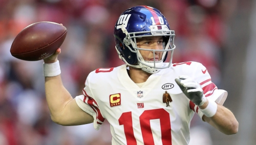 Giants QB Eli Manning says the Saquon Barkley selection proved the team's faith in him