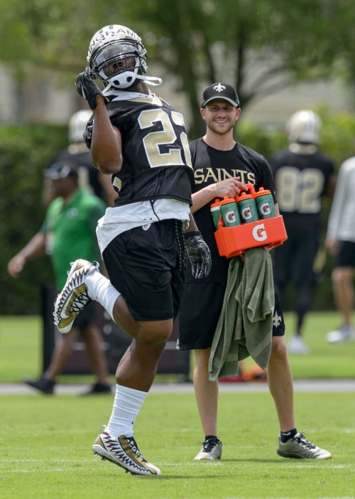 Mark Ingram: Decision to skip OTAs wasn't related to contract