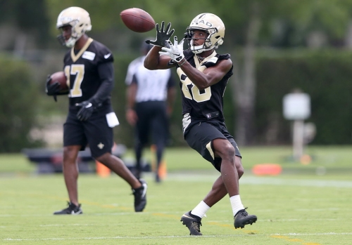 Saints bring 'fastest man in college football' in for minicamp tryout