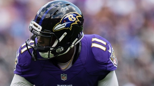 Ravens WR Breshad Perriman struggling with drops