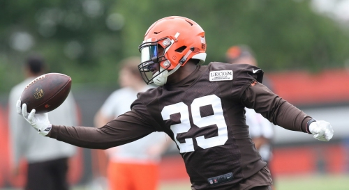 Browns counting on Duke Johnson to do even more this season and he's embracing the challenge